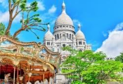 Романтика в Париж през пролетта! 7 нощувки със закуски в хотел 3*, самолетни билети и транспорт с автобус, представител от Луксъри Травел - Снимка