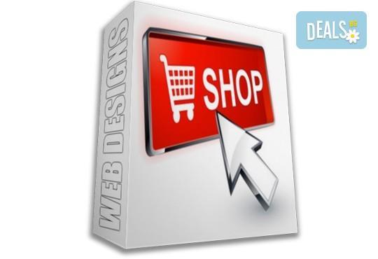 Изработка на сайт, подходящ за олнлайн магазини, от Web Designs Ltd