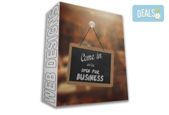 Качествена изработка на супер цена! Вземете пакет Бизнес - изработка на уеб сайт с неограничен брой страници, безплатен домейн за 1 г. и Bootstrap технология от Web Designs Ltd - Снимка 1