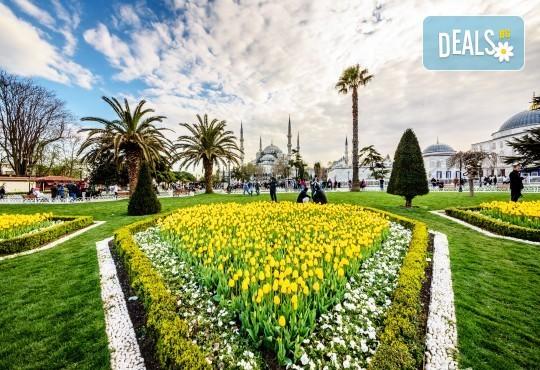 За Великден и Фестивала на лалето в Истанбул! 3 нощувки със закуски, транспорт, посещение на Одрин - Снимка 2