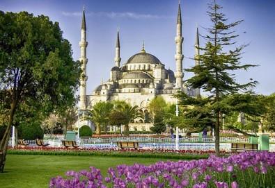За Великден и Фестивала на лалето в Истанбул! 3 нощувки със закуски, транспорт, посещение на Одрин - Снимка
