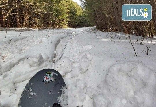 Backcountry забавление! Фрирайд сноуборд за двама с осигурен транспорт, водач и екипировка от Scoot - Снимка 5