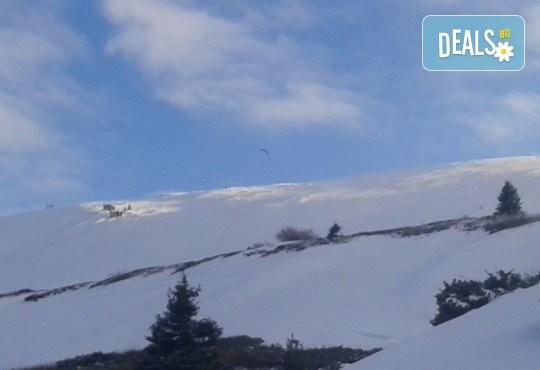 Екстремно зимно забавление! Сноукайт приключение за двама - за начинаещи или среднонапреднали, с включена екипировка - Снимка 3
