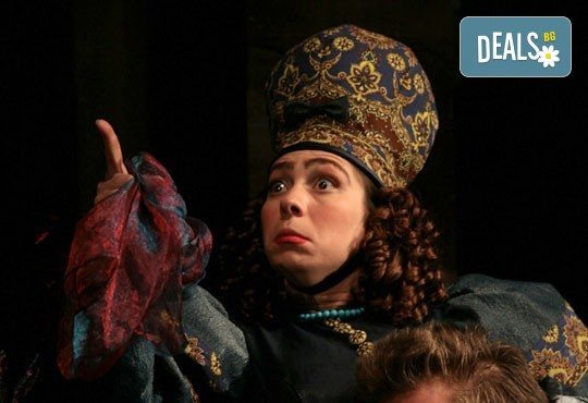 Гледайте Калин Врачански и Мария Сапунджиева в комедията Ревизор на 18.02. от 19 ч., в Театър ''София'', билет за един! - Снимка 11