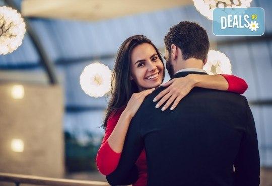 Романтична вечеря за двама на 14-ти февруари, нощувка и релакс зона,