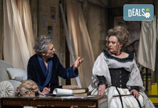 Гледайте Лилия Маравиля и Ириней Константинов в Развратникът на 12.02. от 19 ч., Театър София, билет за един - Снимка 8