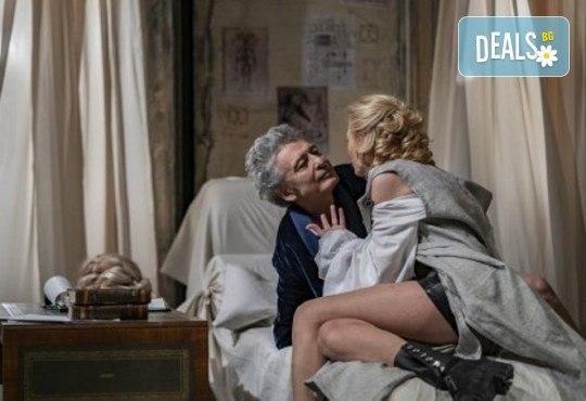 Гледайте Лилия Маравиля и Ириней Константинов в Развратникът на 12.02. от 19 ч., Театър София, билет за един - Снимка 2