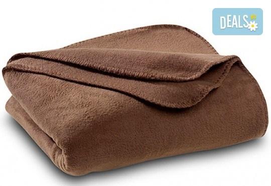 Високо качество на супер цена! Вземете поларено одеяло в цвят по избор от Спално бельо - Снимка 5