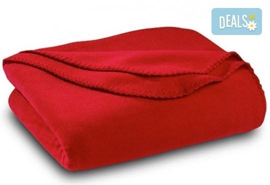 Високо качество на супер цена! Вземете поларено одеяло в цвят по избор от Спално бельо - Снимка 1