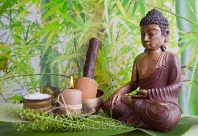 Релакс за тялото и сетивата със 75-минутен тибетски енергиен масаж на цяло тяло в студио Giro