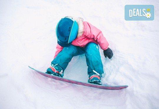 Зимно забавление! Урок по сноуборд за деца на Витоша с включено обслужено оборудване от Scoot - Снимка 1