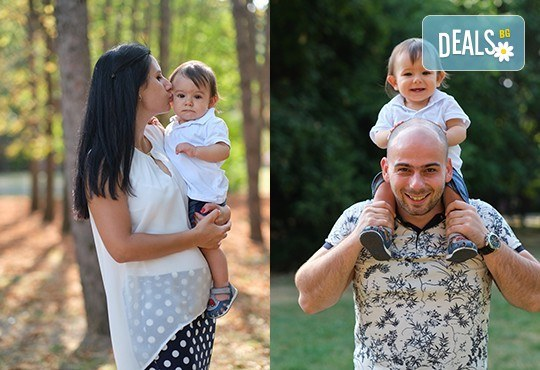Професионална детска или семейна фотосесия по избор, в студио или външна и обработка на всички заснети кадри от Chapkanov Photography - Снимка 38