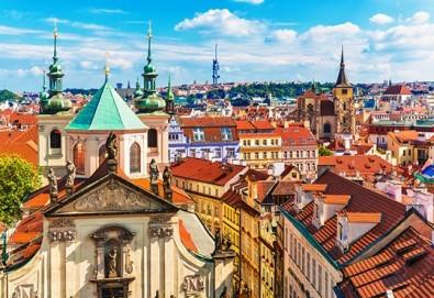 Първа пролет в Прага! 2 нощувки със закуски в хотел 3+, самолетен билет с включен багаж + пешеходна обиколка с екскурзовод на български - Снимка