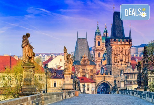 Екскурзия до сърцето на Европа през март! 5 нощувки със закуски в Прага и Братислава, самолетен билет, транспорт с автобус и водач от Дари Травел - Снимка 1