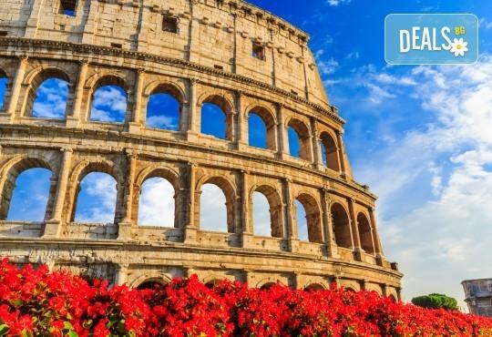 Bella Italia! Екскурзия до Рим, Флоренция и Венеция - 6 нощувки и закуски, комбиниран транспорт - с автобус и самолет, водач и посещение на Загреб - Снимка 1