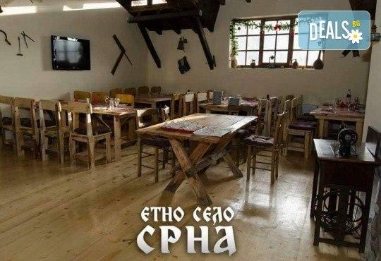 Уикенд за 1 март в Етно село Срна! 1 нощувка със закуска и празнична вечеря, транспорт, посещение на Пирот и Цариброд - Снимка 5