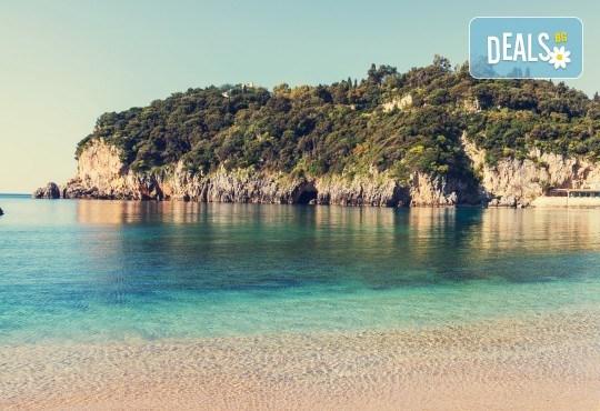 Ранни записвания за почивка на остров Корфу! 4 нощувки със закуски и вечери в Pink Palace Beach Resort, транспорт и водач от Данна Холидейз - Снимка 1