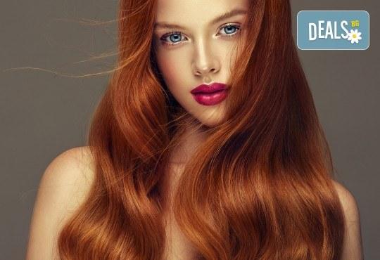 Масажно измиване, терапия за коса, подстригване по избор и прическа със сешоар в Студио за красота Vanity - Снимка 3