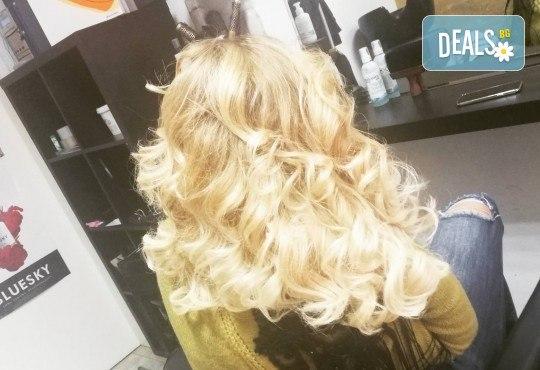 Масажно измиване, терапия за коса, подстригване по избор и прическа със сешоар в Студио за красота Vanity - Снимка 10
