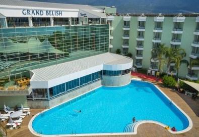 Лятна почивка в хотел Grand Belish 5*, Кушадасъ, с Глобус Холидейс! 5 или 7 нощувки на база All Inclusive, възможност за транспорт - Снимка