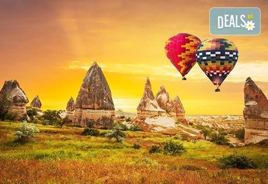 Екскурзия до Кападокия и Истанбул по време на Фестивала на лалето! 4 нощувки с 4 закуски и 3 вечери, транспорт и панорамна обиколка на Анкара - Снимка 1