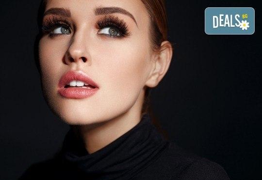 Красив поглед! Поставяне на 3D мигли по метода косъм по косъм, луксозен клас от Студио за миглопластика Princess Lashes - Снимка 4