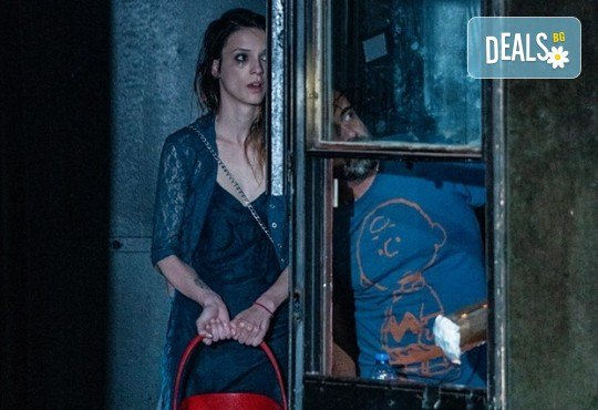 Комедията Пияните с Весела Бабина, Герасим Георгиев-Геро и Анастасия Лютова на 22-ри февруари (събота) в Малък градски театър Зад канала! - Снимка 1