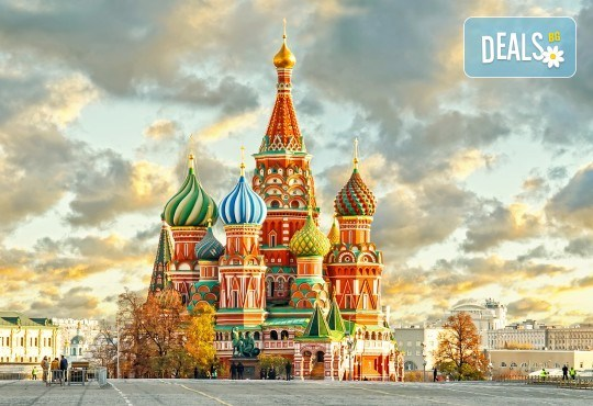 Опознайте Москва и Санкт Петербург с Онекс Тур! Самолетна екскурзия със 7 нощувки и закуски, билет и трансфери, посещение на Петерхоф и Кремъл - Снимка 2