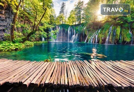 Хърватска приказка! 5 нощувки с 5 закуски и 3 вечери, транспорт, водач, посещение на Загреб, Трогир, Сплит, Плитвички езера, Будва и Котор - Снимка 1