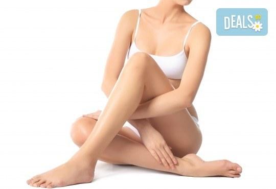 Антицелулитен масаж с интензивно загряващ гел на една или всички засегнати зони в салон за красота Слънчев ден - Снимка 3