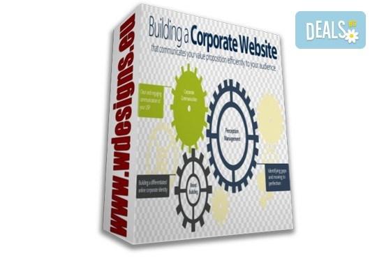 Пакет Корпоративен - изработка на уеб сайт с неограничен брой страници, безплатен SSL сертификат и поддръжка 24/7 от Web Designs Ltd - Снимка 1