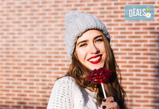 Усмихвайте се широко! Домашно избелване на зъби и обстоен профилактичен преглед в Дентална клиника Персенк - Снимка 1
