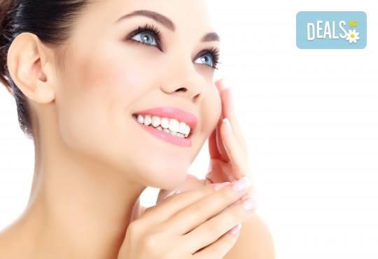 RF лифтинг и фотобиостимулация на лице и шия + лимфодренажен масаж на крака в център за жизненост и красота Девимар - Снимка 3