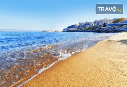 Лятна мини почивка в Кавала! 4 нощувки със закуски и вечери в Hotel Oceanis 3*, транспорт и трансфер до плажовете Амолофи, Неа Ираклица и Каламица - Снимка 5