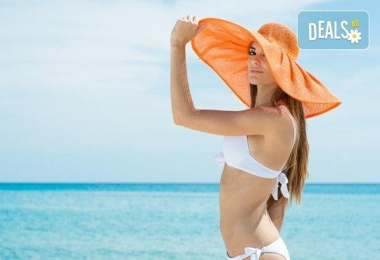 Почивка през лятото в Кавала на супер цена! 7 нощувки със закуски и вечери в Hotel Oceanis 3*, транспорт и трансфер до плажовете Амолофи, Неа Ираклица и Каламица - Снимка 1