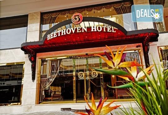Лукс уикенд в Истанбул! 2 нощувки със закуски в Hotel Beethoven 4*, възможност за транспорт от Дениз Травел - Снимка 1