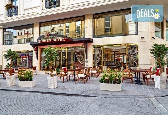 Лукс уикенд в Истанбул! 2 нощувки със закуски в Hotel Beethoven 4*, възможност за транспорт от Дениз Травел - Снимка 2