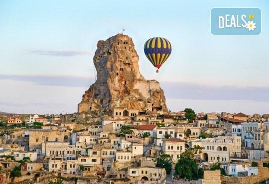 Екскурзия до най-известните места на Турция - Истанбул, Кападокия, Анкара и Анталия! 7 нощувки със 7 закуски и 5 вечери, автобусен транспорт, самолетен билет, такси и багаж - Снимка 3