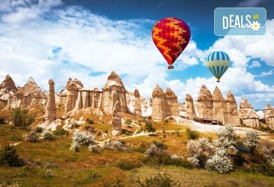 Екскурзия до най-известните места на Турция - Истанбул, Кападокия, Анкара и Анталия! 7 нощувки със 7 закуски и 5 вечери, автобусен транспорт, самолетен билет, такси и багаж - Снимка 2