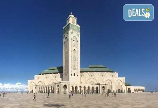 Ранни записвания до 28.02.! Самолетна екскурзия до Мароко с 4 нощувки със закуски и вечери, билет и трансфери, посещение на Маракеш, Казабланка, Танжер и Рабат - Снимка 1