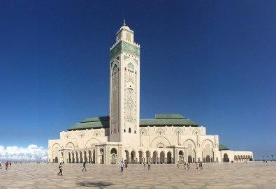 Ранни записвания до 28.02.! Самолетна екскурзия до Мароко с 4 нощувки със закуски и вечери, билет и трансфери, посещение на Маракеш, Казабланка, Танжер и Рабат - Снимка