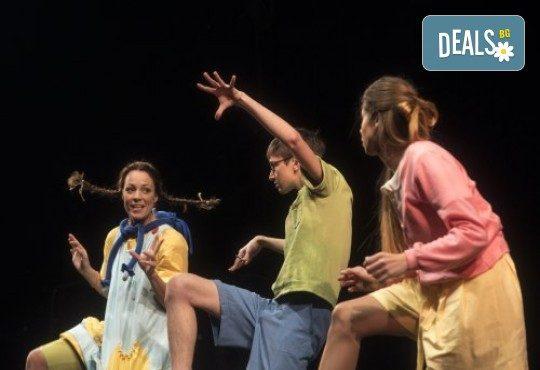 На театър с децата! Гледайте Пипи на 14.03. събота от 17ч. в Театър София, билет за двама - Снимка 3
