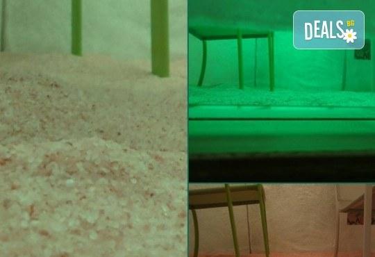 30-минутна халотерапия (солна терапия) срещу алергии, при простудни и дерматологични заболявания в център за жизненост и красота Девимар - Снимка 3