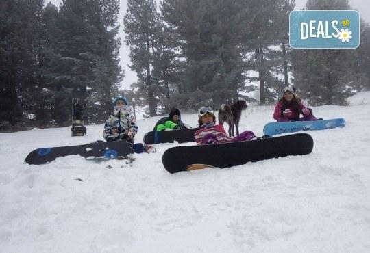 3 часа дневно или нощно каране на сноуборд за начинаещи или напреднали с инструктор и включена екипировка от Scoot - Снимка 4