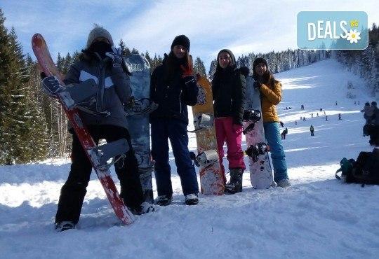 3 часа дневно или нощно каране на сноуборд за начинаещи или напреднали с инструктор и включена екипировка от Scoot - Снимка 5