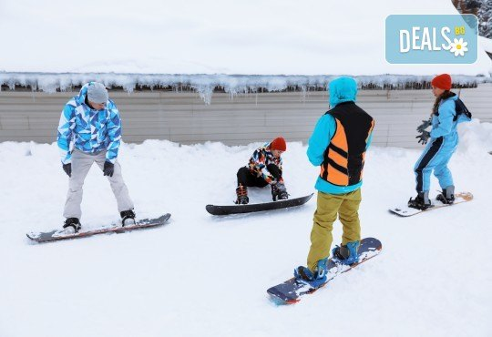 3 часа дневно или нощно каране на сноуборд за начинаещи или напреднали с инструктор и включена екипировка от Scoot - Снимка 3