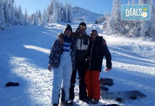 3 часа дневно или нощно каране на сноуборд за начинаещи или напреднали с инструктор и включена екипировка от Scoot - Снимка 6