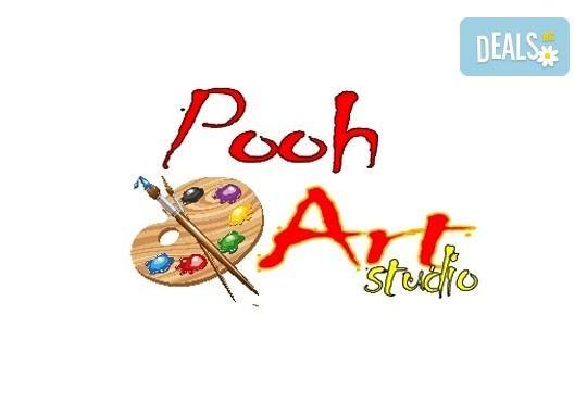 Рисуване и вино! 3 часа рисуване на картина с акрил през м. март + чаша вино в Пух арт студио - Снимка 33