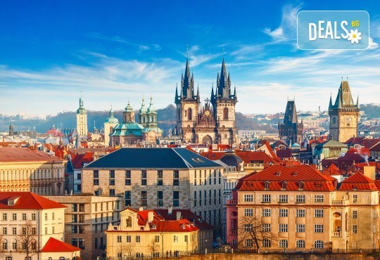 Екскурзия до Будапеща, Виена и Прага: 5 нощувки и закуски, транспорт, водач