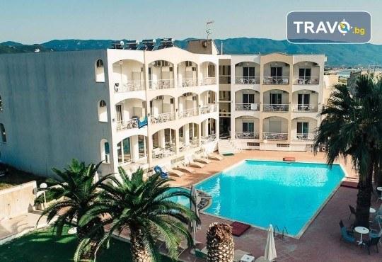 Лятна почивка на супер цена в Stavros Beach Hotel в Ставрос! 7 нощувки със закуски и вечери, възможност за транспорт - Снимка 1